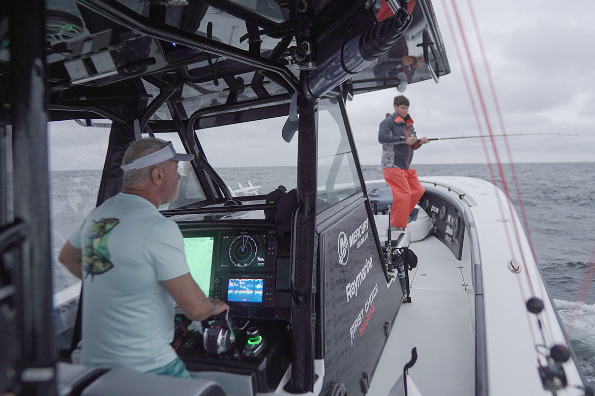 In Pursuit of Kings | Marine Electronics by Raymarine