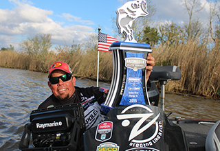 Raymarine Angler Wins Bassmaster Elite Tournament in Texas