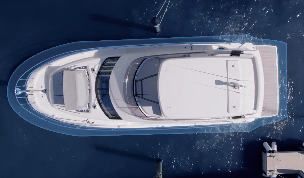 New Raymarine DockSense - Assisted Docking Technology | Raymarine - A Brand by FLIR