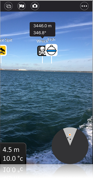 The New Dragonfly Smartphone App | Raymarine by FLIR
