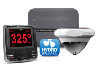 Raymarine introduces Hydro-Balance™ technology for Evolution™ autopilots