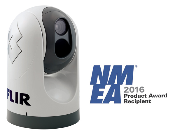 FLIR's M618 Maritime Thermal Imaging Camera Wins NMEA 2016 Product of Excellence Award