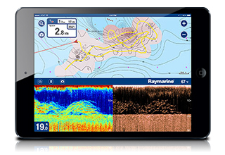Raymarine and Navionics Partner to Deliver Exciting New SonarChart™ Live Functionality to Raymarine DragonflyTM PRO & Wi-Fish Devices
