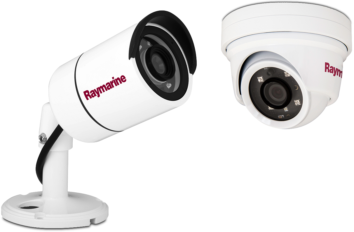 NEW CAM210 and CAM220 IP Marine Cameras | Raymarine by FLIR