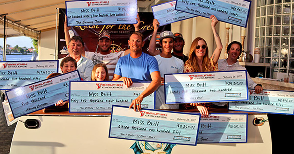 Raymarine Pros Dominate at Sailfish Challenge