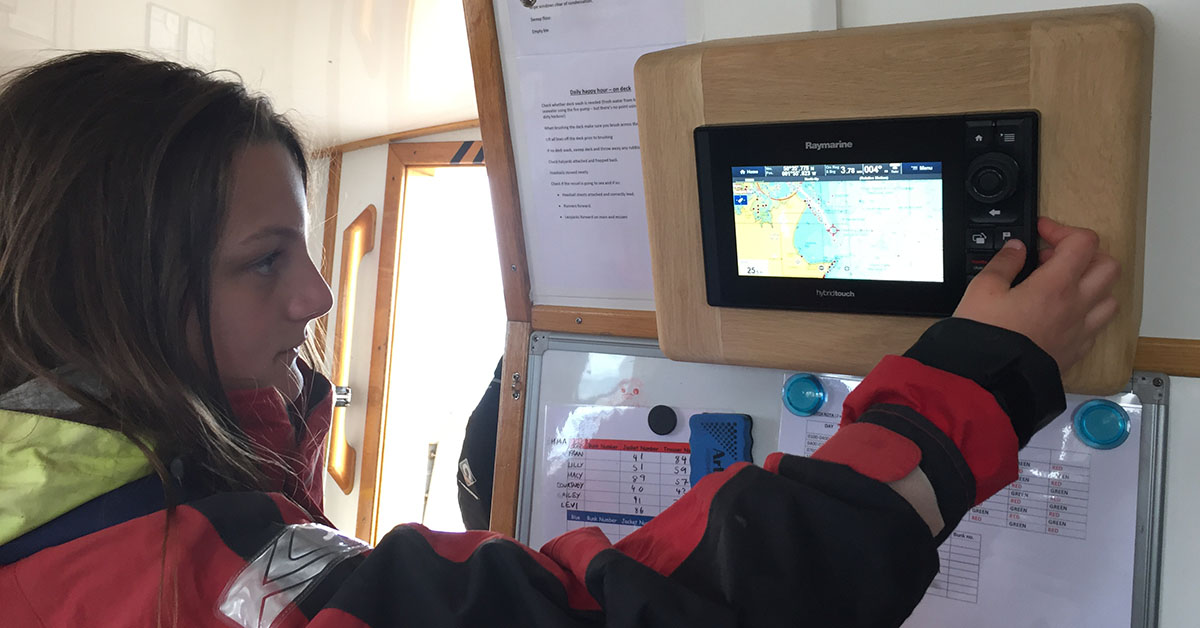 Ocean Youth Trust South's 'Prolific' Re-fitted with the Latest Raymarine Technology