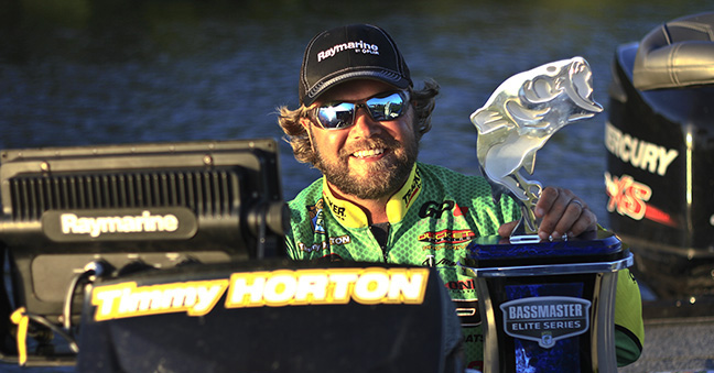 Raymarine Pro Tim Horton Wins Bassmaster Elite on Florida's Lake Okeechobee