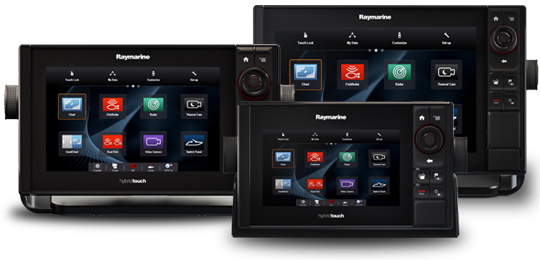 Software Updates für MFDs | Raymarine