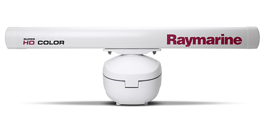 HD Colour and Super HD Open Array Radar | Raymarine