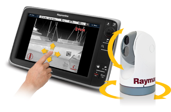 TSeries Slew-to-cue | Raymarine