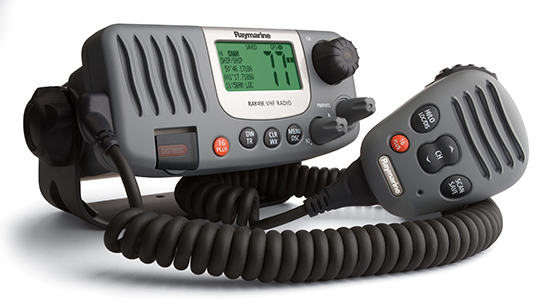 Ray49E VHF Radio Ordering Information | Raymarine