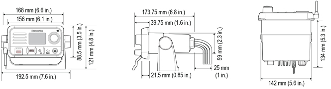 Ray50 dimensions