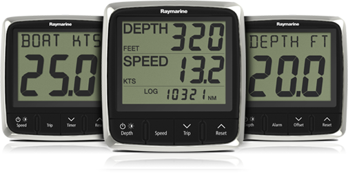 i50 Instrument Displays | Raymarine