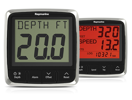 i50 Istrument Displays | Raymarine
