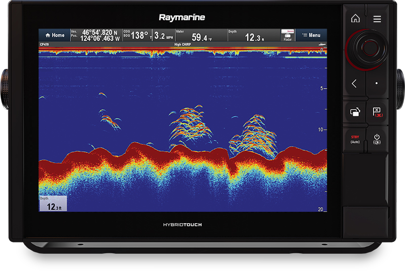 Axiom Pro 12 - Single Channel Sonar | Raymarine by FLIR