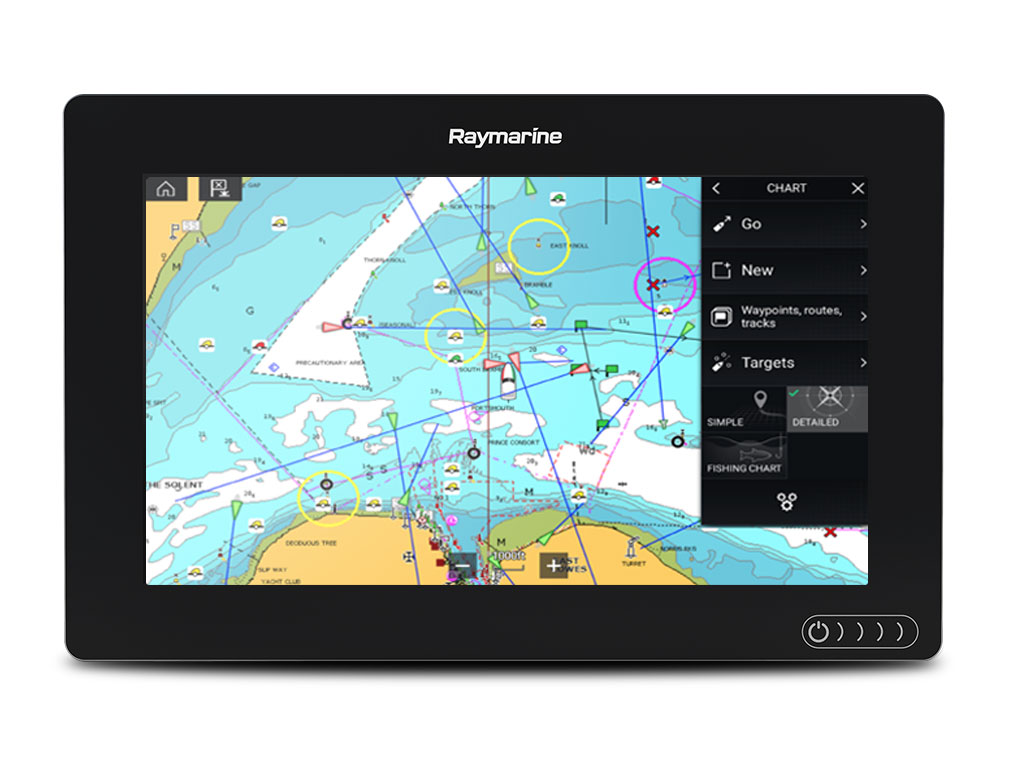 New Axiom 9 Raymarine By Flir Nmea 0183 Cable Wiring Diagram Gps Chartplotter