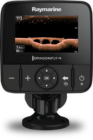 DownVision CHRIP Sonar | Raymarine Dragonfly