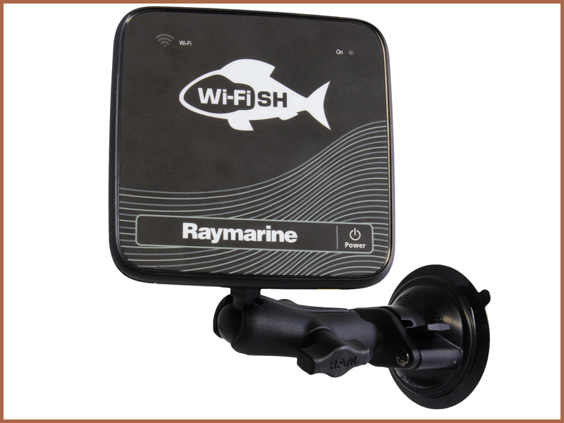 RAM Suction Cup Mount - Dragonfly 4, 5, 7 and Wi-Fish   Raymarine by FLIR