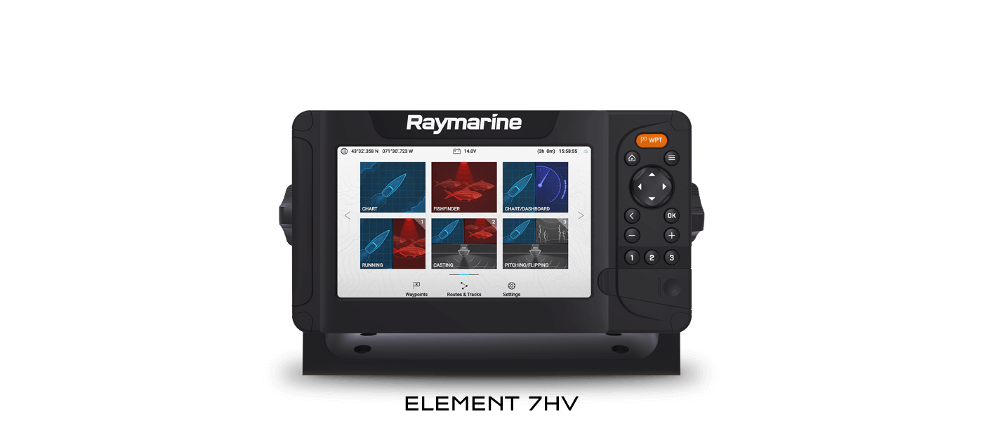 Element 7HV - Sonar & GPS | Raymarine - A Brand by FLIR