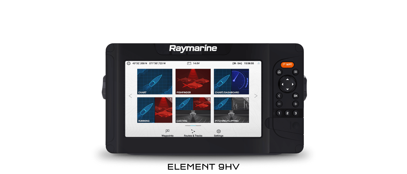 Element 9HV - Sonar & GPS | Raymarine - A Brand by FLIR