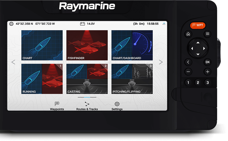 Element – LightHouse Sport OS | Raymarine – et varemerke fra FLIR