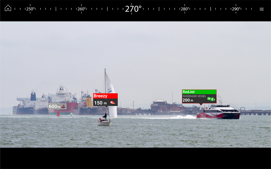 LH3.7 ClearCruise AR - Recognise and Respond | Raymarine - A Brand by FLIR