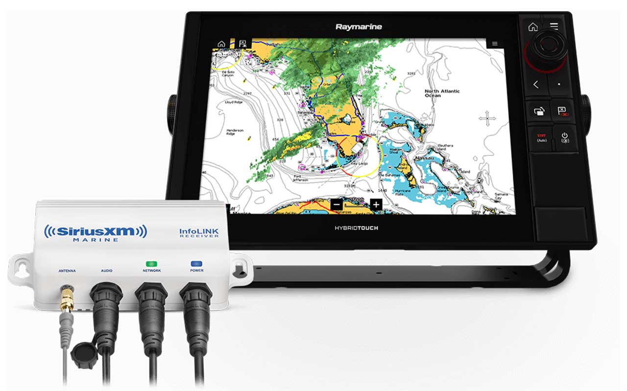 LightHouse 3.9 Software Update - SR200 SiriusXM Marine Weather Receiver Support | Raymarine - A Brand by FLIR