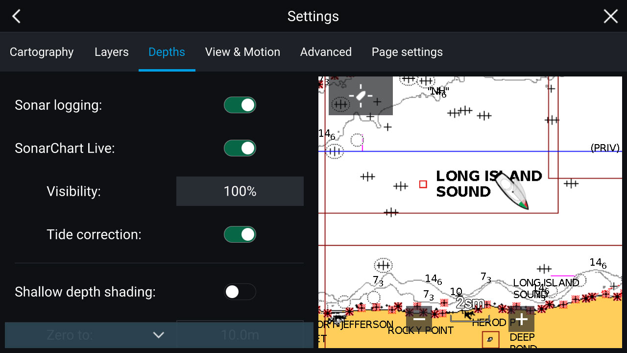 LightHouse 3.2 - Navionics Sonar Logging | Raymarine by FLIR