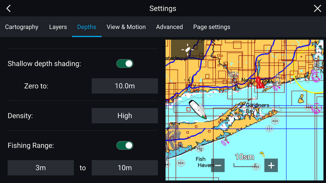 LightHouse 3.2 - Navionics Advanced Map Features | Raymarine by FLIR