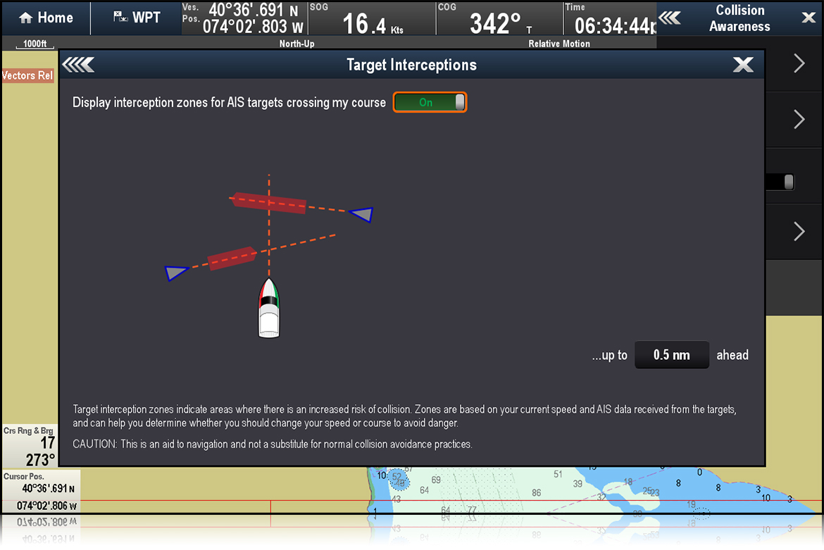 Target Interceptions - LightHouse II R15 | Raymarine