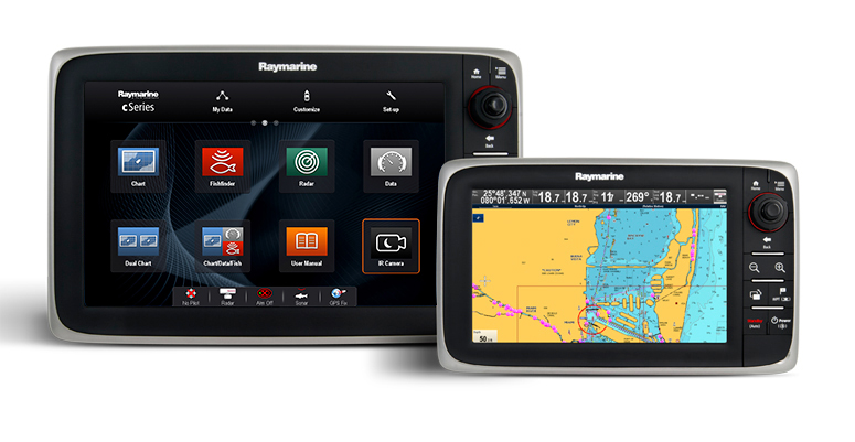 cSeries Multifunction Display | Raymarine