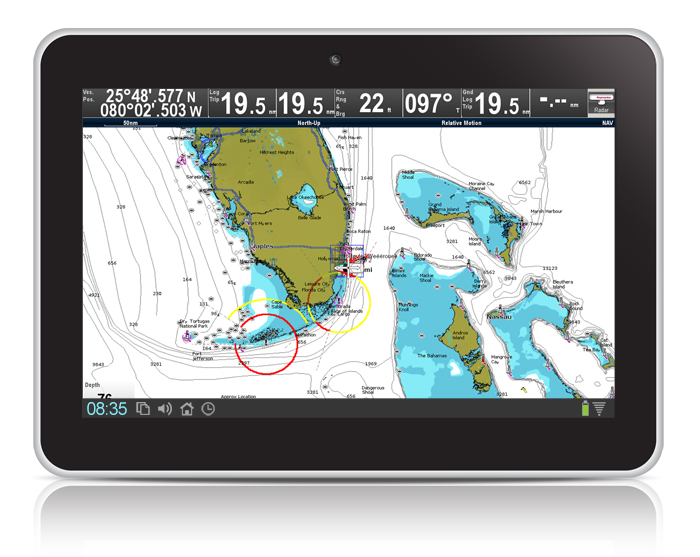 RayControl on Mobile and Tablet | Raymarine