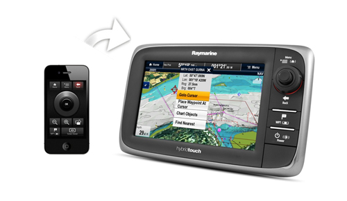 RayRemote on iPhone | Raymarine