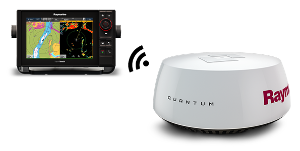 Quantum Radar from Raymarine