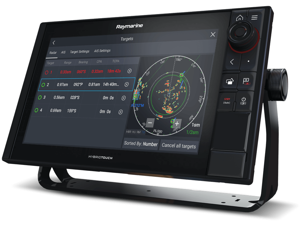 Axiom Pro and Quantum - Automactic Target Acquisition and Tracking | Raymarine - A Brand by FLIR