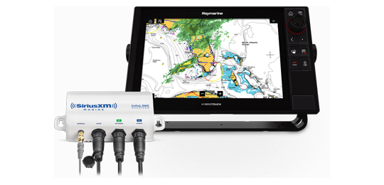 Find out more about the SiriusXM Marine Weather | Raymarine by FLIR