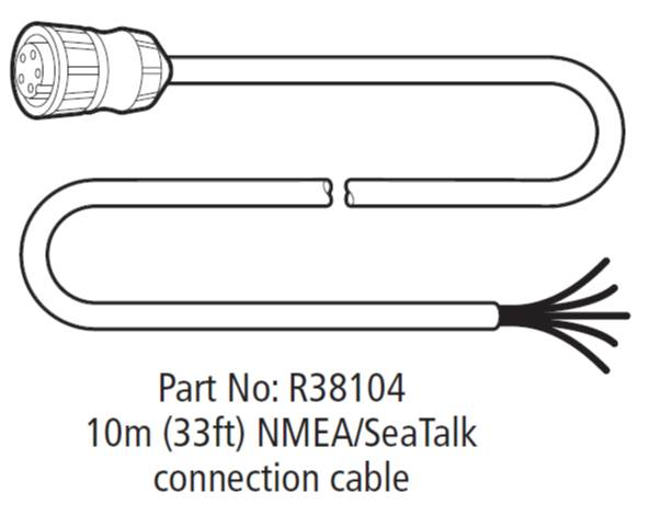 R38104 RS125 Cable r38104 rs125 cable jpg raymarine smartpilot wiring diagram at gsmx.co