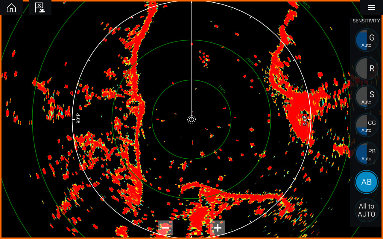 Marine Weather Map.Marine Radar Scanners Raymarine A Brand By Flir