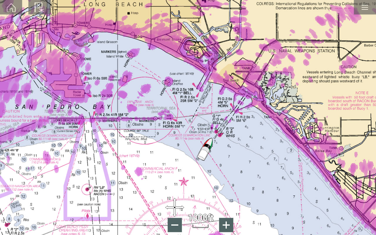 Marine Radar Key Features - Radar Overlay on Chart | Raymarine - A Brand by FLIR