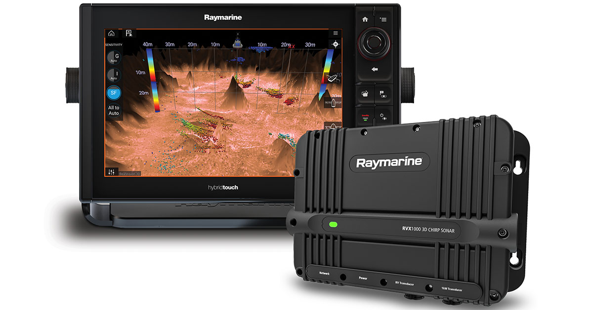 Upgrade to the Latest Raymarine OS and Sonar Tech