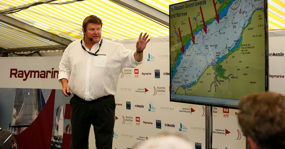 Raymarine Returns to Cowes to Host Live Weather Briefing