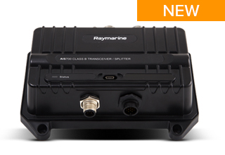 Raymarine Launches New AIS Transceiver with Integrated Antenna Splitter