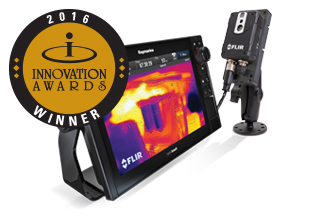 FLIR AX8 wins the NMMA Innovation Award at the Miami Boat Show