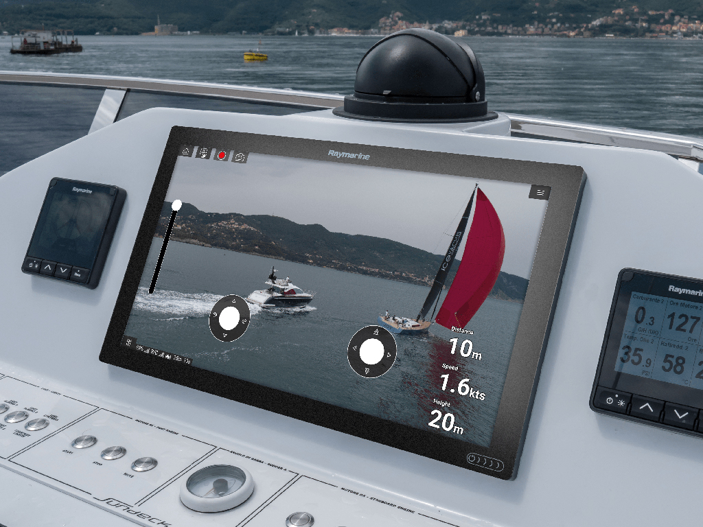 Axiom UAV - Big Screen Viewing | Raymarine - A Brand by FLIR