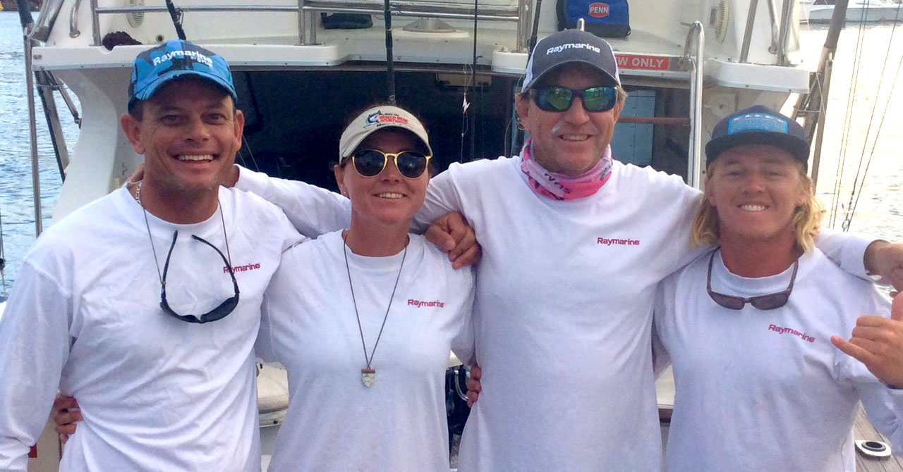 Raymarine Gives Tournament Champ The Winning Edge!