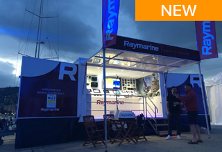 Mobile Showrooms Bring Latest Raymarine Technology Directly to Boaters