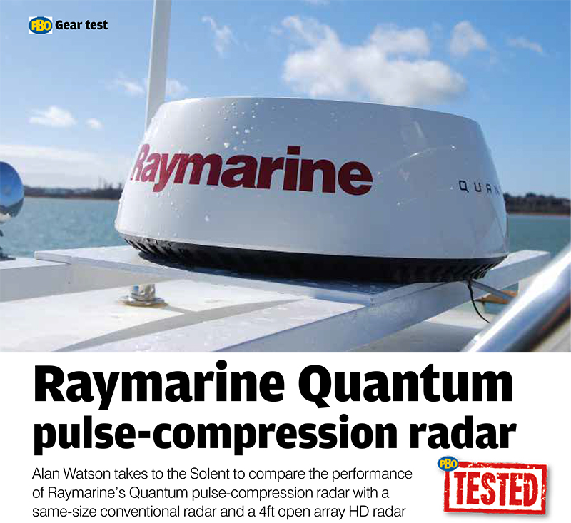 Practical Boat Owner Puts Quantum Radar To The Test | Raymarine by FLIR