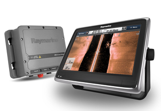 Raymarine introduserer SideVision™ ekkolodd og IP-video