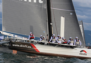 Skinfit wins the Blue Riband on Lake Constance