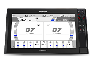 Raymarine Axiom Now Supports Yamaha Command Link Integration